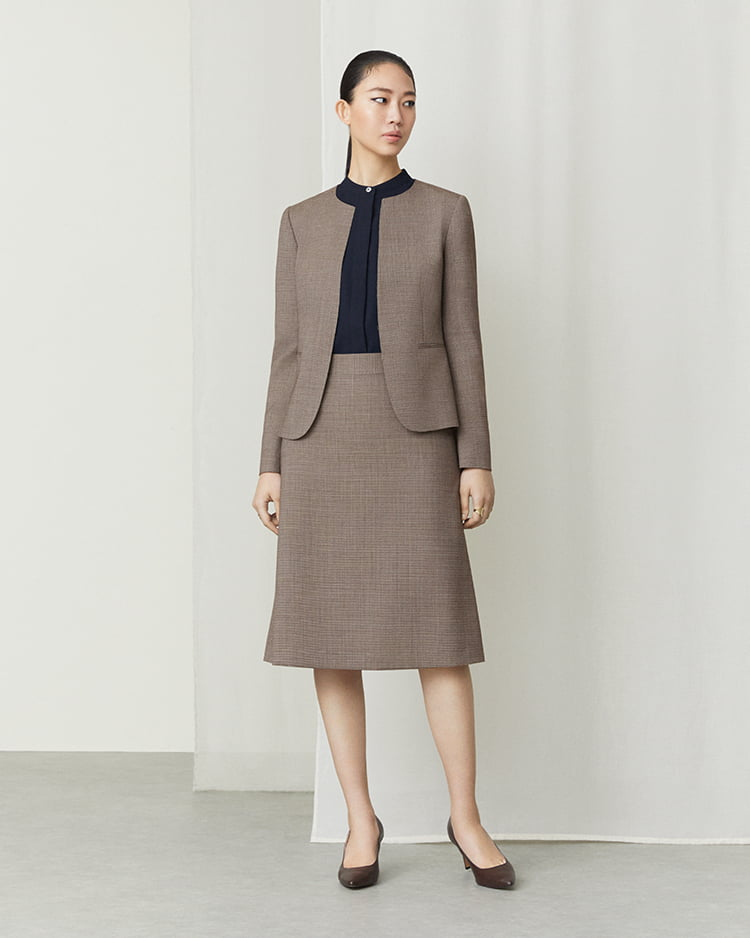 Standard: 8407/W100/BROWN PLAIN PATTERN