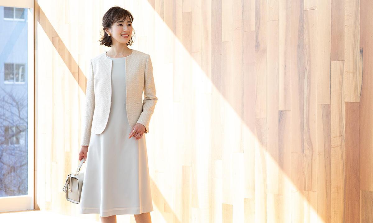 きちんと感と華やかさが両立した入学式・卒業式の服装