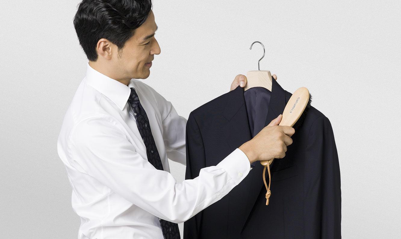 スーツの正しいクリーニング&メンテナンス
