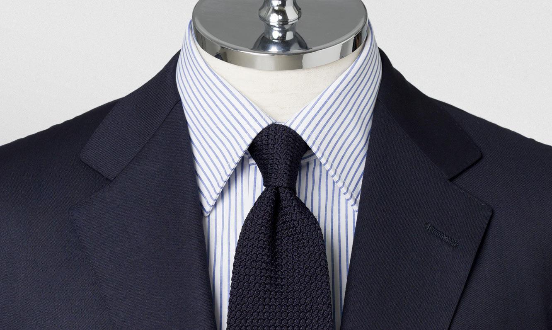 シーンに合わせたシャツ(ワイシャツ)の衿型(デザイン)と着分け方
